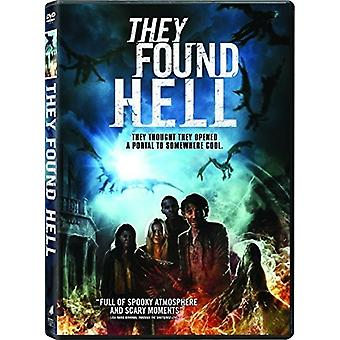 They Found Hell [DVD] USA import