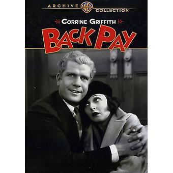 戻る (1930) 【 DVD 】 USA 輸入を支払う