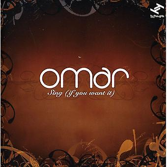 Omar - Sing (If You Want It) [CD] USA import