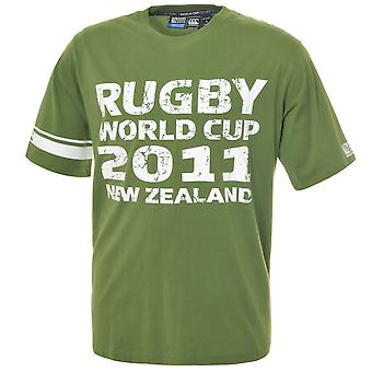 T-shirt del CCC Rugby World Cup 2011 capitano [verde]