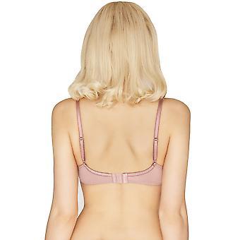 Mio Classic Delphine Pink Lace Balcony Bra H01-14-L