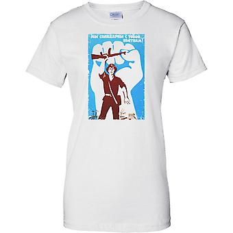 Vietnam-NVA-Propaganda-Poster - Damen-T-Shirt
