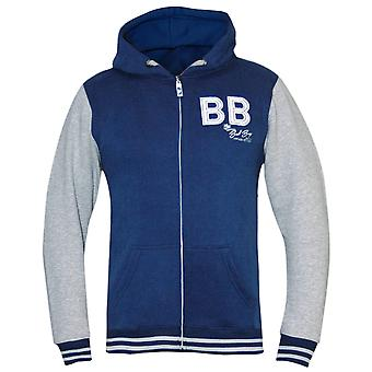 Bad Boy Kid Varsity Jacket - grau/blau