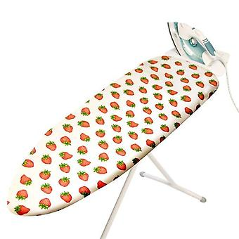 Caraselle Elasticated Strawberry Design Ironing Board Cover - 137x48cm