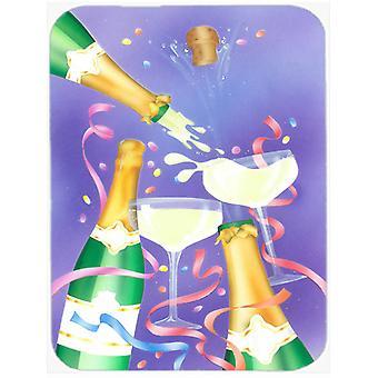 Celebrate New Years Toast Glass Cutting Board Large