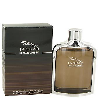 Jaguar Classic Amber Gift Set 100ml EDT + bagagelabel.