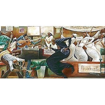 Predigt über Prediger (Mini) Poster Print von Frank Morrison (10 x 6)