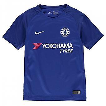 2017-2018 Chelsea Home camisa de futebol Nike (crianças)