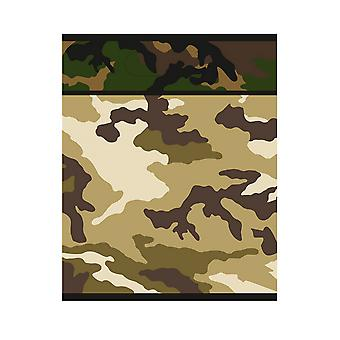 Unique Party Military Camo Loot Bags (Pack Of 8)