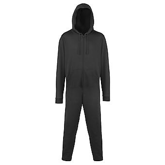 Comfy Co Unisex Plain Hooded All In One Onesie (280 GSM)