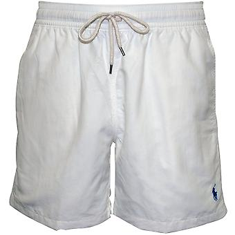 Polo Ralph Lauren voyageur Swim Shorts, Classic White