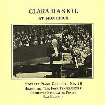 Mozart/Hindemith - Clara Haskil at Montreux [CD] USA import