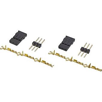 Reely Deluxe servo plug loose JR 2 pc(s)