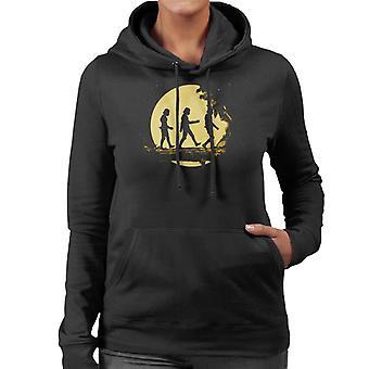 Original Stormtrooper Wald Moonlight Damen Sweatshirt mit Kapuze