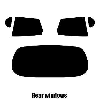 Pre cut fönstret nyans - Daihatsu Sirion 5-dörr Halvkombi - 1998 till 2004 - bakre windows
