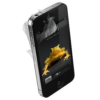 Apple iPhone 4/4S (Ön/Arka) için Scratch Koruma lı Wrapsol Ultra Damla