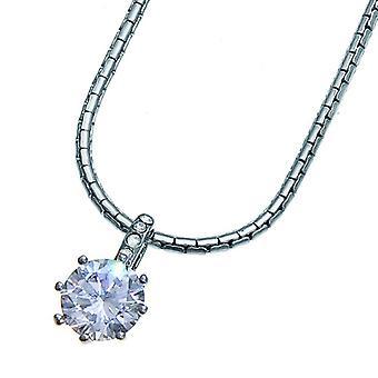 Oliver Weber Pendant True Rhodium Crystal