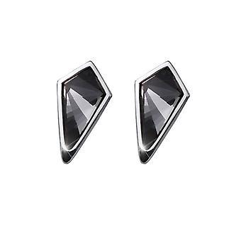 Oliver Weber Post Earring Kite Rhodium, Silver Night
