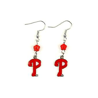 Philadelphia Phillies MLB Sophie Style Dangle Earrings