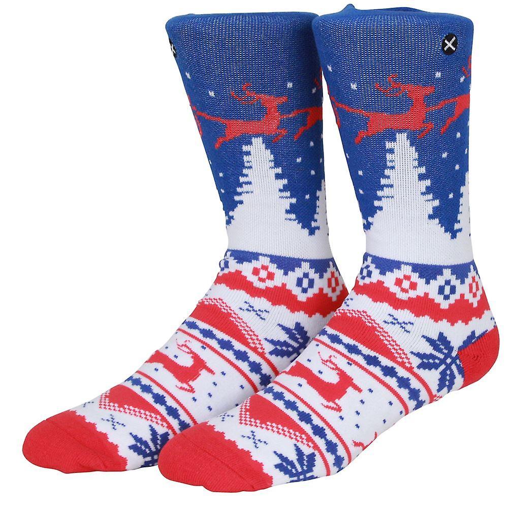 OddSox Mens Crew Knit Socks ~  Winter
