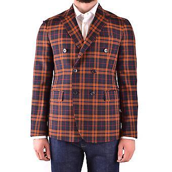 Brian Dales Ezbc126024 Men's Multicolor Wool Blazer