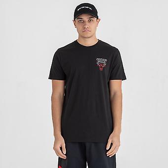 Neue Ära NBA Neon Lichter T-Shirt ~ Chicago Bulls