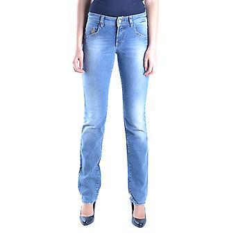 John Galliano Ezbc164055 Women's Light Blue Denim Jeans