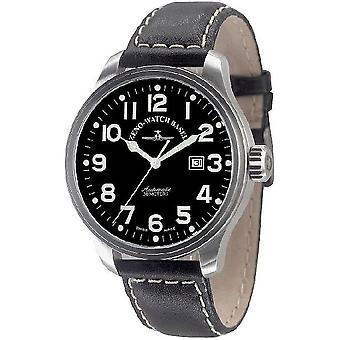 Zeno-watch mens watch oversized pilot automatic 8554-a1