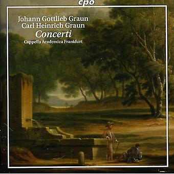 Graun/Graun - Johann Gottlieb Graun, Carl Heinrich Graun: Concerti [CD] USA import