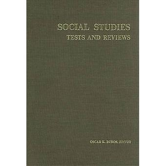Social Science Tests and Reviews by Buros Institute - 9780910674225 B