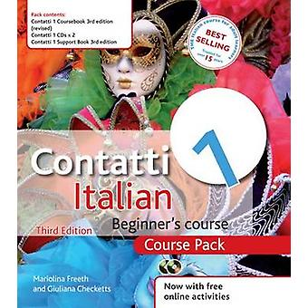 Contatti 1 Italian Beginner's Course - Course Pack (3rd unabridged rev