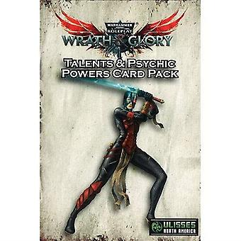 Warhammer 40K Wrath and Glory RPG Talents and Psychic Powers Card Pack