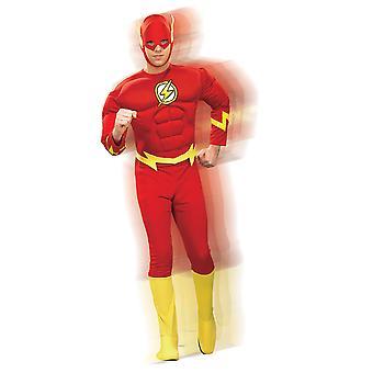 Adult Flash Deluxe Costume - DC Comics