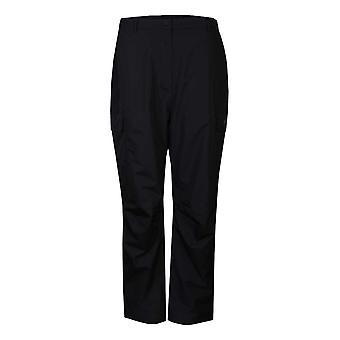 "ProQuip Golf Womens Sophie Waterproof Trousers Fly Zip Black X-Large 27"""