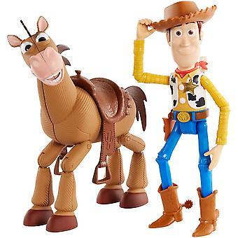 Disney Pixar Toy Story 4 Woody e Bullseye Figura