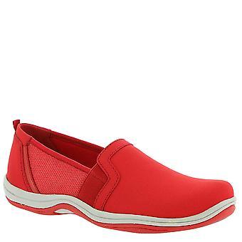 Easy Street Womens Mollie stof lage top slip op mode sneakers