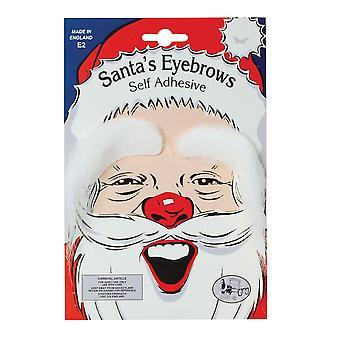 Bristol Novelty Unisex Adults Bushy Santa Eyebrows