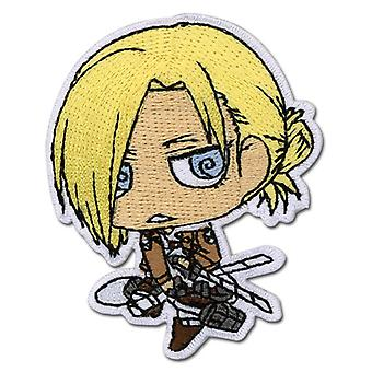 Patch - Attack on Titan - New SD Chibi Annie Iron-On Gifts Toys Anime ge44796