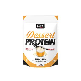 QNT Dessert Protein White Chocolate Low Fat High Protein Pudding Supplement 480g