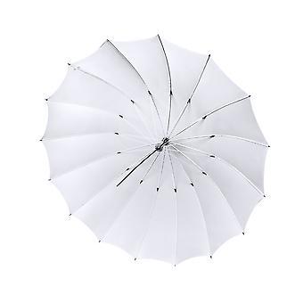 BRESSER SM-08 Jumbo ombrello traslucido bianco 162 cm