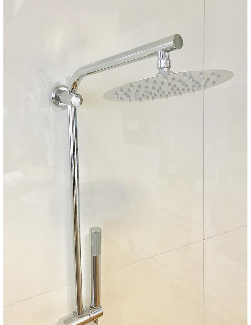 Full Shower Column With Steel Shower Head And Shower