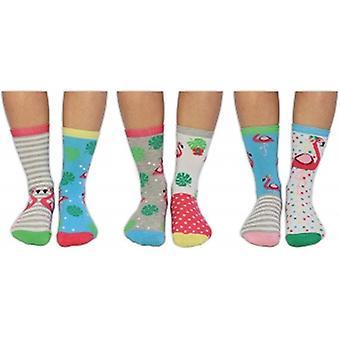 United Oddsocks Be Flamazing Novelty Socks