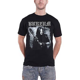 Burzum T Shirt Anthology 2018 Album cover Band logo new Official Mens Black
