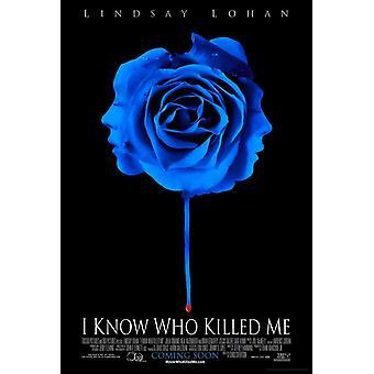 I Know Who Killed Me (Single Sided Advance) (2007) Original Cinema Poster