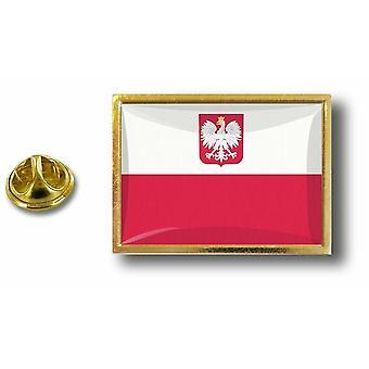 Pins Pin Badge Pin's Metal  Aigle Pince Papillon Drapeau Pologne Polonais