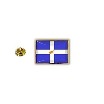 Pine PineS Pin Badge Pin-apos;s Metal Brooch Greek Flag Greek Cyprus Cypriot