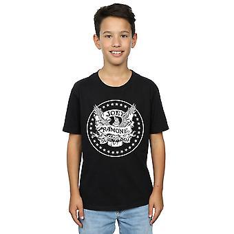 Joey Ramone jongens verjaardag Crest T-shirt