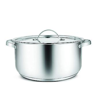Penguin Home - Professional Induction-Safe Stainless Steel Casserole Pot with Lid