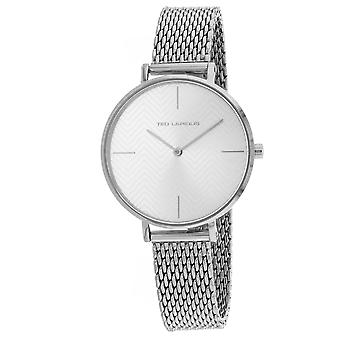 Ted Lapidus Women's Classic Silver Dial Watch - A0705IBFIXX