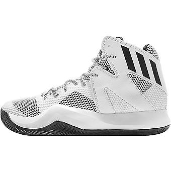 adidas Performance Mens Crazy Bounce Sports Training Basketball Shoes - White
